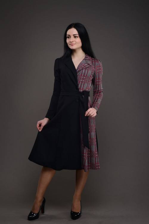 Платье короткое 0272-1218
