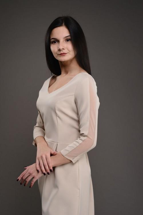 Платье короткое 0233-0918